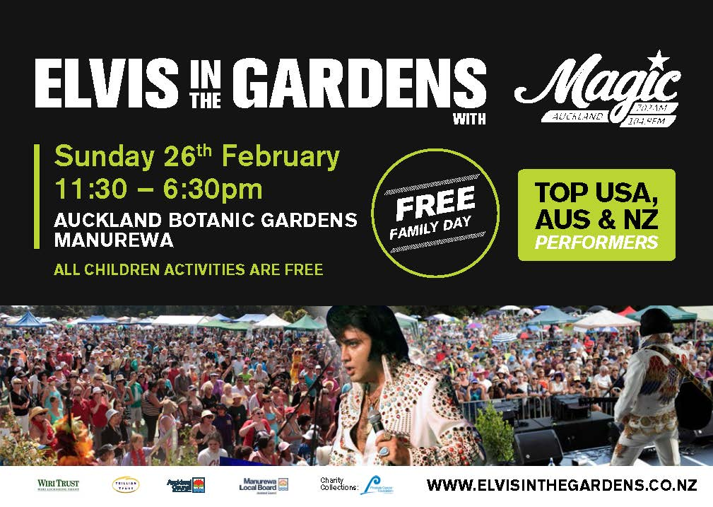 Elvis in the Gardens @ Auckland Botanic Gardens | Auckland | Auckland | New Zealand